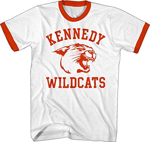(The Wonder Years- Kennedy Wildcats Ringer T-Shirt Size XL)
