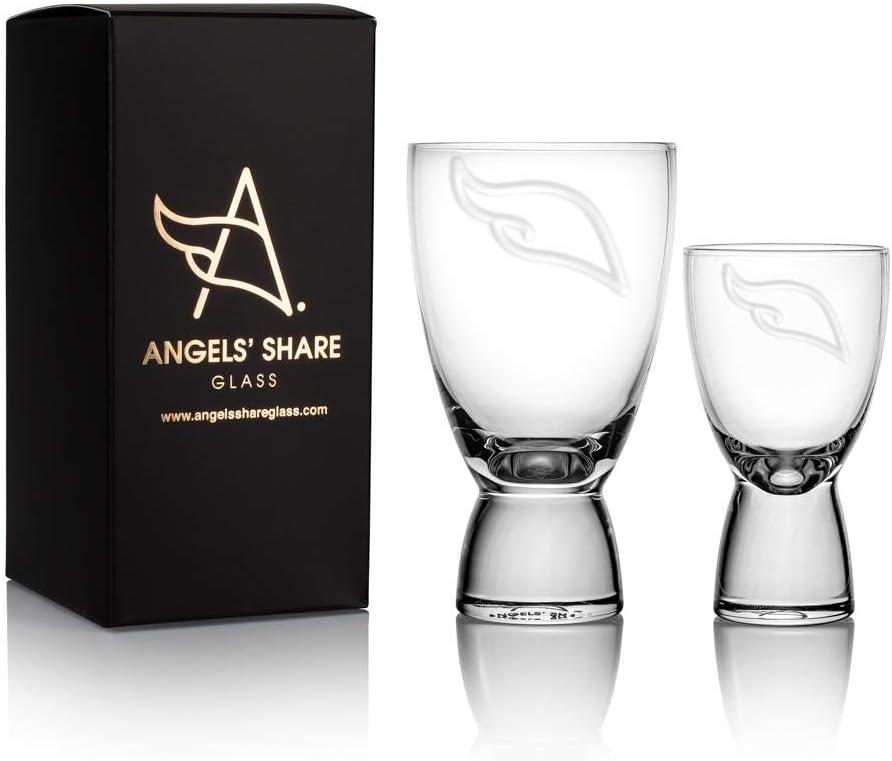 Angels Share Glass - Vaso de cristal de cristal para beber ...