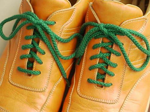 靴ひも.com・スニーカー用コットン靴紐(丸・No.602-M・4.5mm幅)・65cm
