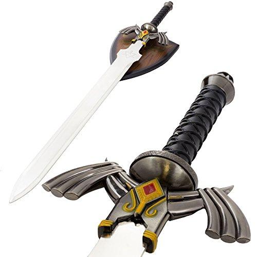 Link Master Sword Zelda Twilight Princess Fantasy Dagger with Plaque -