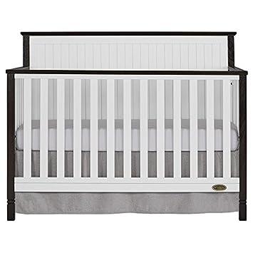 Amazon.com : Dream On Me Alexa II 5 1 Convertible Crib, White with ...