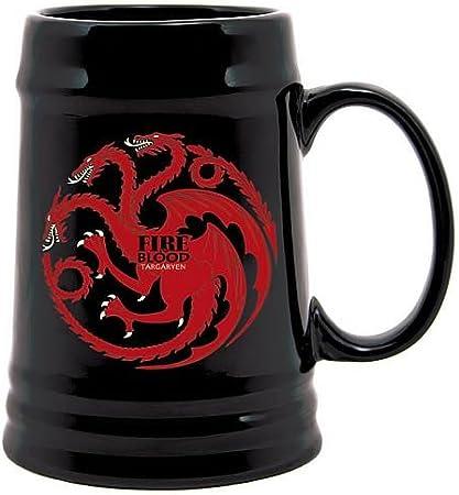 Juego de Tronos SDTHBO02899 - Jarra de cerámica diseño Targaryen, color negro (SD Toys SDTHBO02899) - Jarra cerámica Juego de tronos negra Targaryen , color/modelo surtido