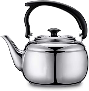 Kettle Alcohol Stove Special Small Pot Thick Stainless Steel Pot Teapot Kettle Teahouse Matching Pot1L