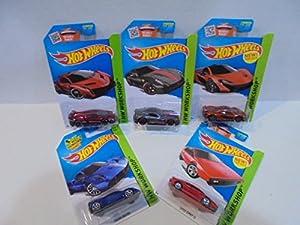 Mattel Hot Wheels Hw Exotics 5 Exotic Cars Toys Games