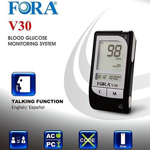 FORA-V30a-Blood-Glucose-Monitoring-System