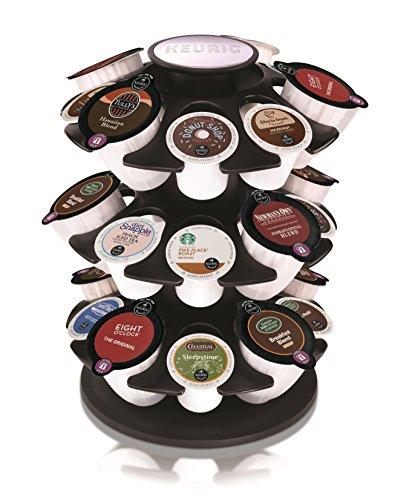 Keurig Coffee Storage Carousel Organizes