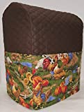 Penny's Needful Things Rooster Cover Compatible for Kitchenaid Stand Mixer (Chocolate Brown, 4.5,5,6qt Lift Bowl)