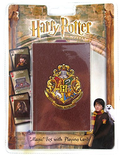 Harry Potter Bicycle Playing Cards in Magic Book Box Sorcerer's Stone ()