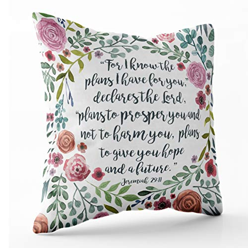 Shorping Zippered Pillow Covers Pillowcases 16X16 Inch Christmas Decorative Throw Pillow Cover,Pillow Cases Cushion Cover for Home Sofa Bedding