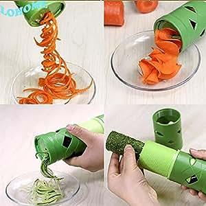 LOHOME(TM) 1PCS Multifunction Vegetable Fruit Processing Twister Cutter Slicer Kitchen Utensil Tool