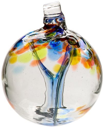 Kitras Glass Tree - Kitras 2-Inch Tree of Enchantment, Hope (Discontinued by Manufacturer) by Kitras Art Glass Inc.