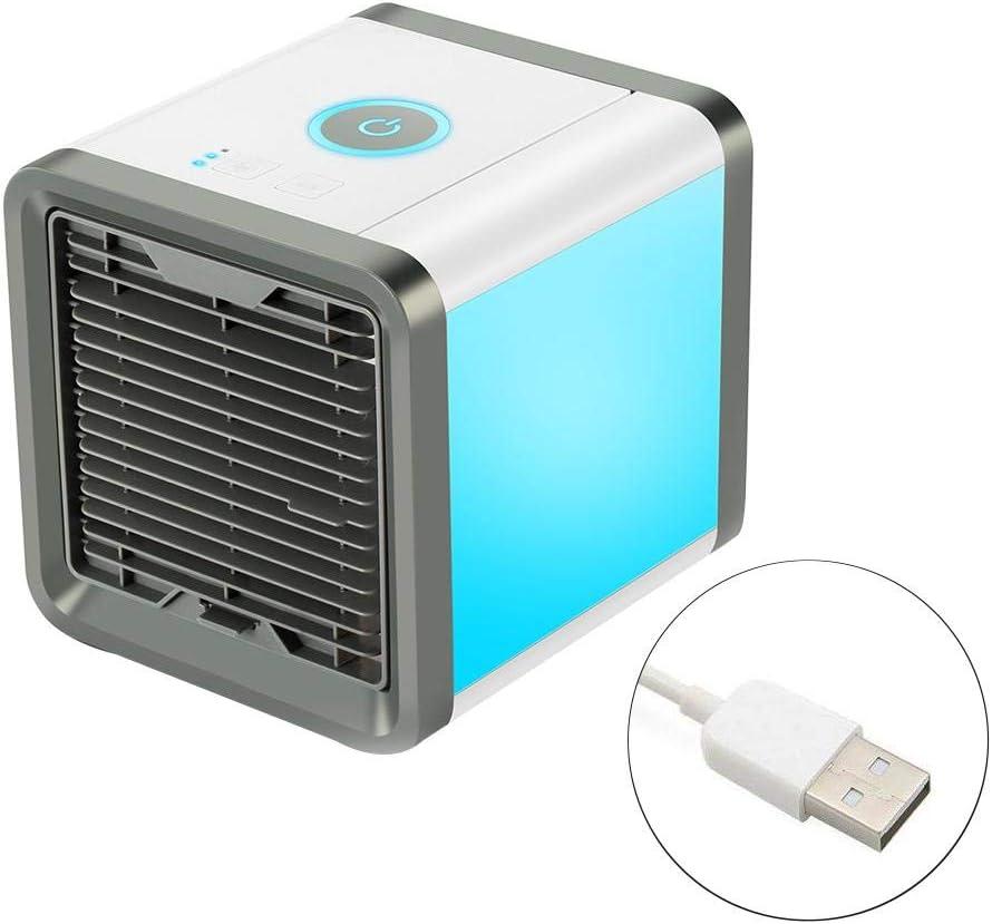 raninnao Ventilador De Aire Acondicionado, Enfriador De Aire USB ...