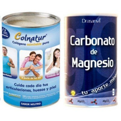 Colnatur - COLNATUR COLAGENO Y MAGNESIO CARBONATO - colageno-magnesio: Amazon.es: Salud y cuidado personal