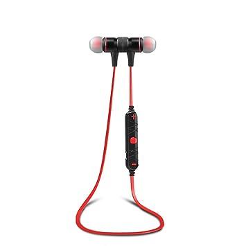 TopTen – Auriculares inalámbricos, Bluetooth 4.0 deportes In-ear magnética Auriculares estéreo sonido cancelación