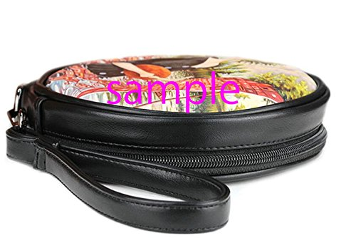 Makeup Bags28 Bag Round Dead Sugar Day Case Skull Fashion Cosmetis Round Print the of Female Sugar Leather Makeup qnRxwIFTa