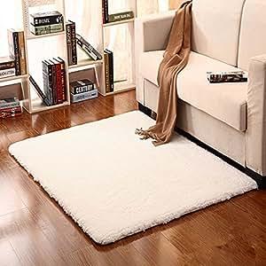 Hoomy fluffy carpet for livingroom modern anti for Living room 4x5