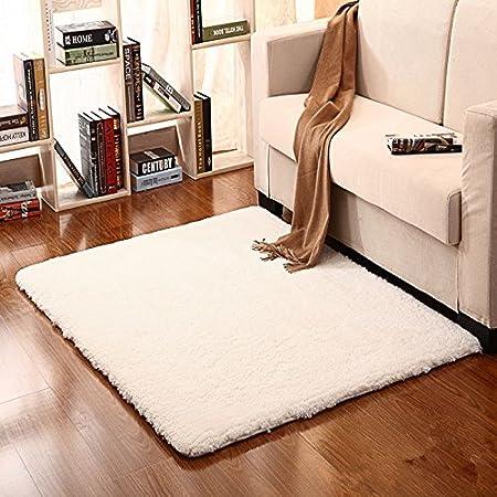 Phenomenal Ustide Fluffy Off White Carpet For Bedroom Soft Soild Download Free Architecture Designs Scobabritishbridgeorg