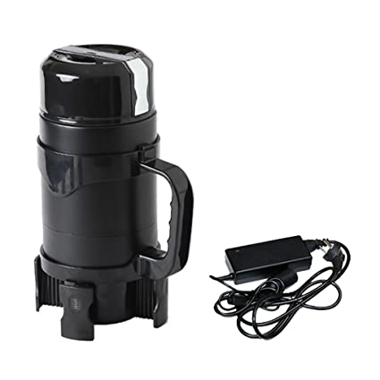 Caldera eléctrica de alta capacidad simple 1200 ml 12v / 24v home car smart portátil hervidor