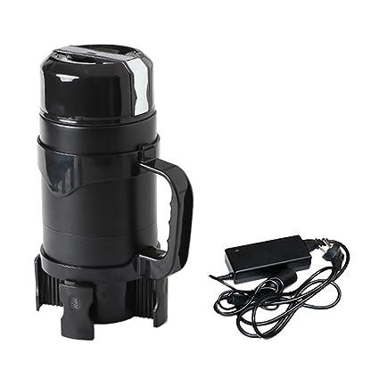 Caldera eléctrica de alta capacidad simple 1200 ml 12v / 24v home car smart portátil hervidor