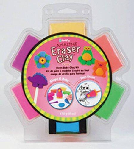 (Sculpey Amazing Eraser Clay - 6 Colors/1oz each)