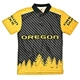 FOCO Oregon Polyester Short Sleeve Thematic Polo Shirt Double Extra Large