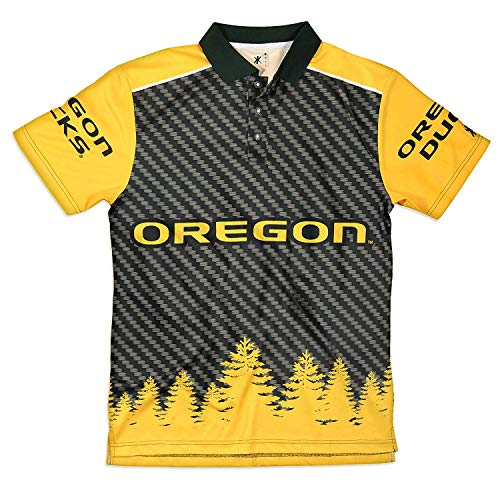 FOCO Oregon Polyester Short Sleeve Thematic Polo Shirt Double Extra Large by FOCO