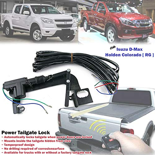 Automatic Power Tailgate Security Lock For Isuzu D-Max NEW Dmax 4x4 2012-ON