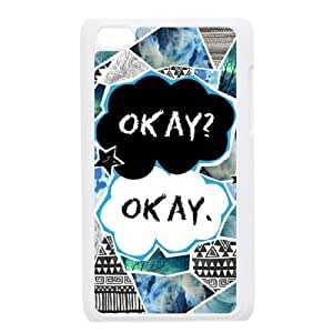 C-EUR Customized Phone Case Of Okay Okay For Ipod Touch 4