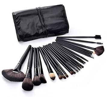 CALIDAD!! Juego de 24 brochas de maquillaje profesional con ...