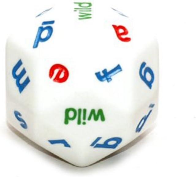 Koplow Individual White Alphabet Dice 30mm d30