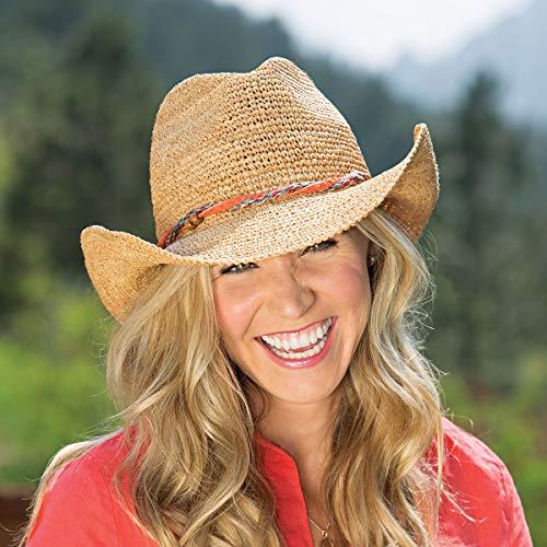 a348bd62d1196 Wallaroo Hat Company Women s Catalina Cowboy Hat – Raffia