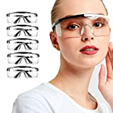 Fashion Safety Goggles 5pcs Protective Glasses