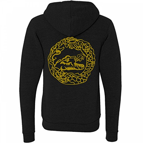 Killer Croc Costume Sweatshirt:Unisex Canvas Triblend Full Zip Hoodie