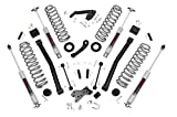 4 lift kit for jeep jk - Rough Country 60930 - 3.5-Inch Suspension Lift Kit for 07-18 Jeep JK Wrangler Unlimited
