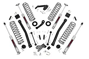 Rough Country 60830 - 3.5-inch Series II Suspension Lift System w/ Premium N3 Shocks for Jeep: 07-18 Wrangler JK 4WD
