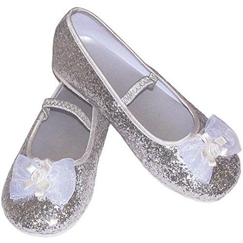 Scarpe da Ballerina, per damigella d'onore, misura L (36-39 EU23/24/7/3yrs 2