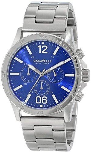 Caravelle New York Men's 43A116 Stainless Steel Bracelet Wat...