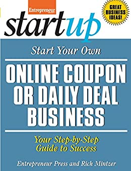 amazon com start your own online coupon or daily deal business