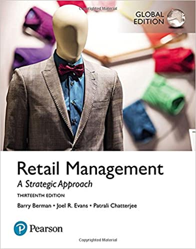 Amazon Com Retail Management Global Edition 9781292214672 Joel R Evans Patrali M Chatterjee Barry R Berman Books