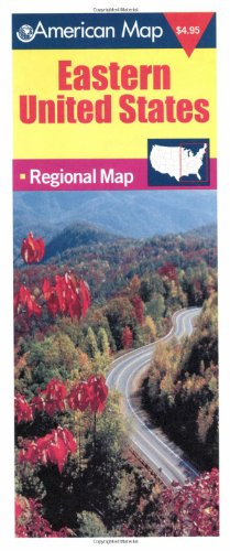 Eastern United States: Regional Map - American Map (Travel Vision)