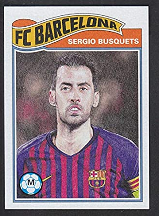 Sticker 27 FC Barcelona Sergio Roberto Champions League 17//18