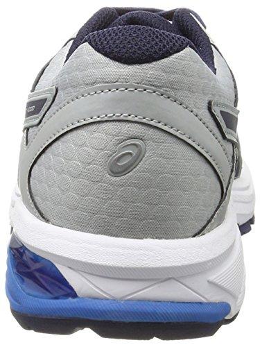 Hommes Asics Gt 6-1000 Chaussures De Course Gris (gris Moyen / Caban / Bleu Directoire)