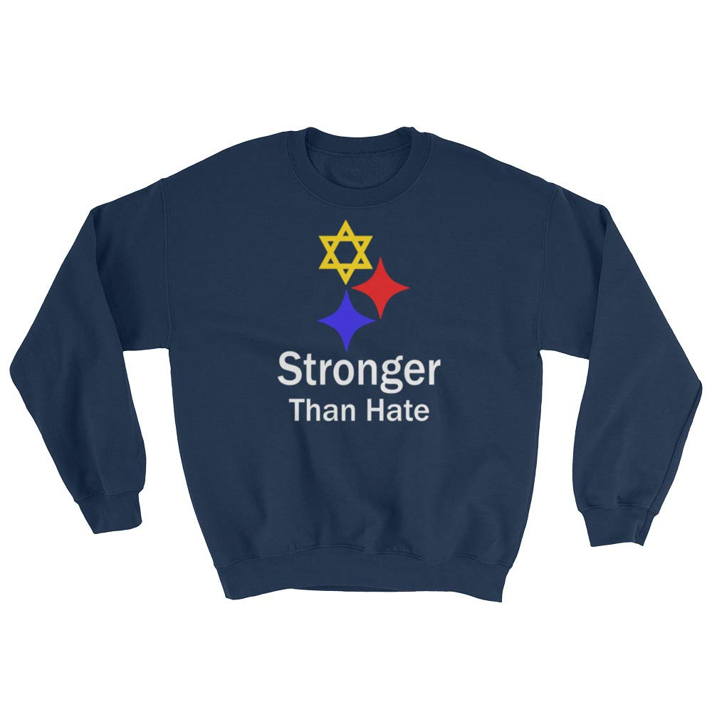 Stronger Than Hate Pittsburgh Support Love Wins Sweatshirt Stronger Than Hate Stronger Than Hate Pittsburgh