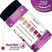 Nurse Hatty® - 250ct. Ketone Strips (ECONOMY SIZE - LOOSE STRIPS) - Made in USA - Ketone Test Strips to Benefit Your Ketogenic, Paleo, Atkins & Diabetic Diets + Brand New BONUS PDF Edu. Pack