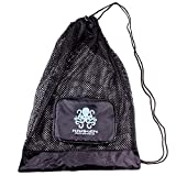 Kraken Aquatics Compact Mesh Gear Bag | for Scuba Diving, Snorkeling, Swimming, Beach and Sports Equipment