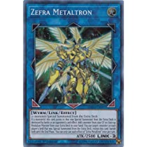 Zefra Metaltron EXFO EN097 Super Rare 1st Edition Yugioh