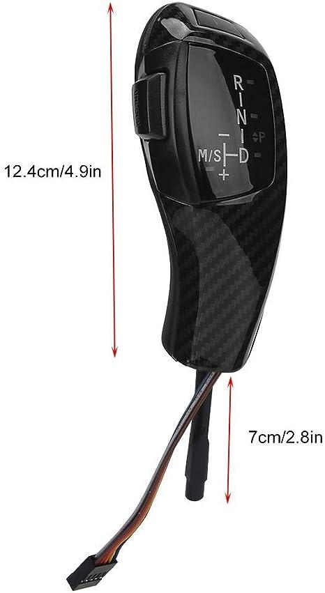 Akozon Schaltknauf F30 Style Lhd Automatik Led Head Shifter Nachrüstsatz Für E81 E84 E89 E90 E91 E92 E93 Kohlefaser Stil Baumarkt