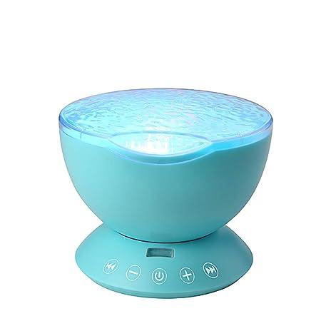 Proyector de luz nocturna Lámpara de proyección con reproductor de ...