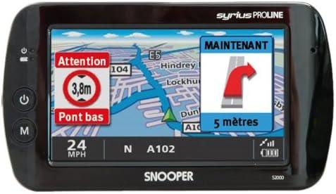 Snooper Syrius S2000 Ventura 10,9 cm SAT NAV für Wohnwagen mit Großbritannien und Westeuropa Karten