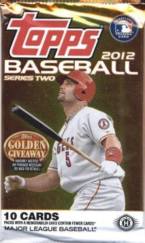 Topps Baseball Cards: Hobby Pack Series 2 (10 Cards/Pack) (2012 Topps Series)